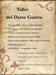 Taller Del Darse Cuenta Recursos Coaching Y Pnl